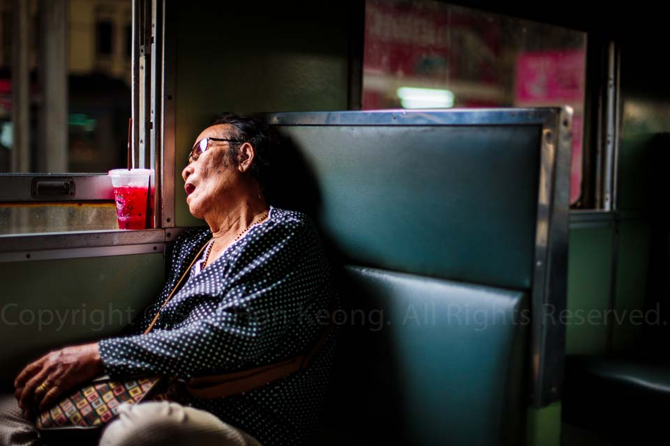 Doze Off @ Bangkok, Thailand