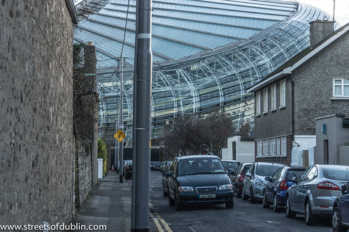 View Of The Aviva Stadium From Bath Avenue - Dublin (Ireland) by infomatique