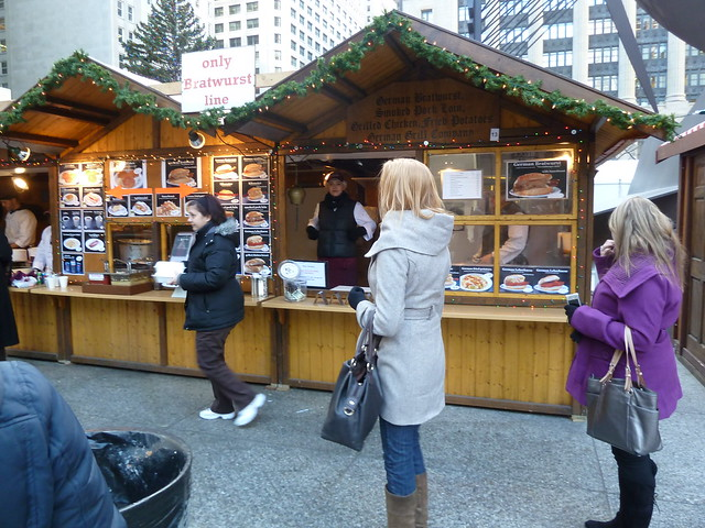 Loop Lunching: Christkindlmarket