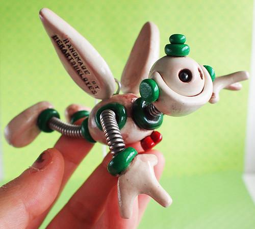 Robot Angel Christmas Ornament