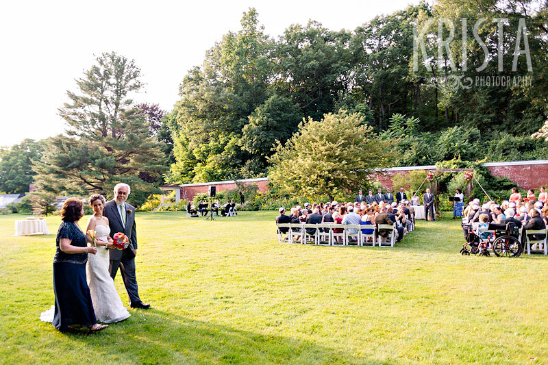 Wedding at the Lyman Estate
