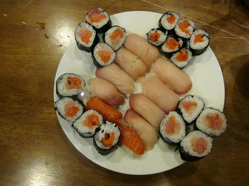 sushi accompaniment