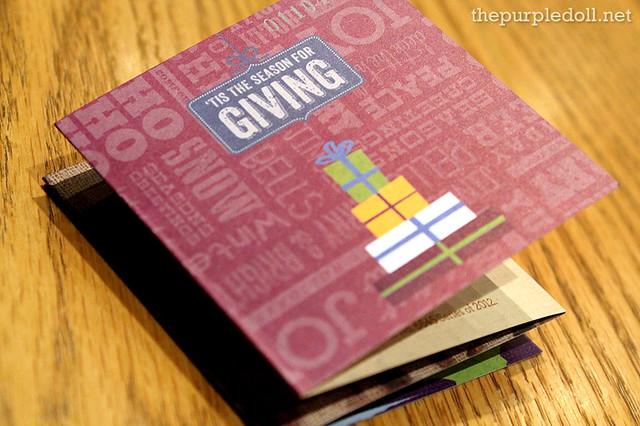 CBTL Giving Journal 2013 Card
