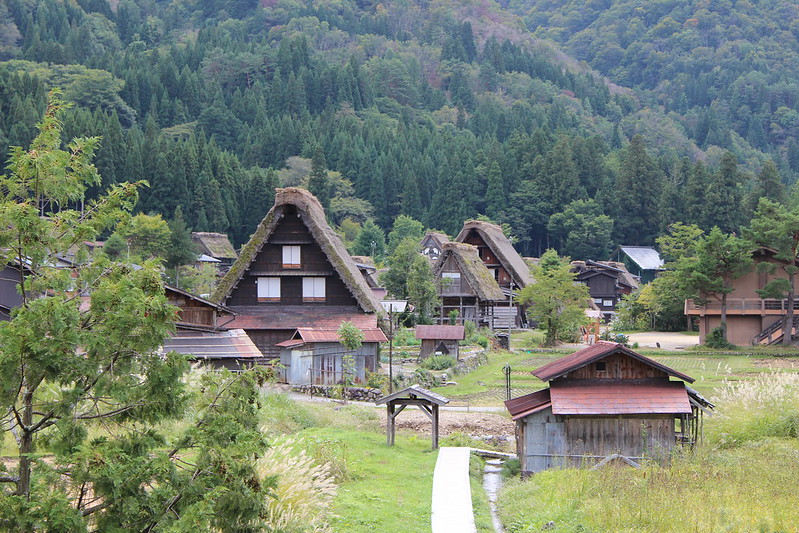 和田家 屋根裏からの景色