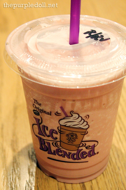 Red Velvet Ice Blended without Whip Cream