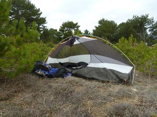 Wednesday night's campsite by mattkrause1969