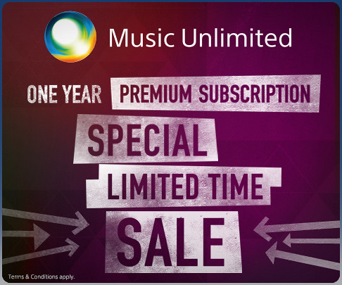 1-Year Music Unlimited Premium Subscription Only $1 a Month for PS