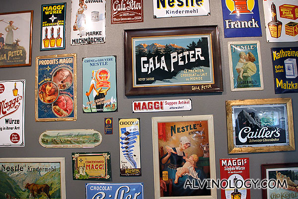 Nestle wall