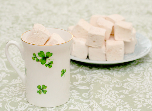 Irish Cream Marshmallows, aka Pillows of Heaven