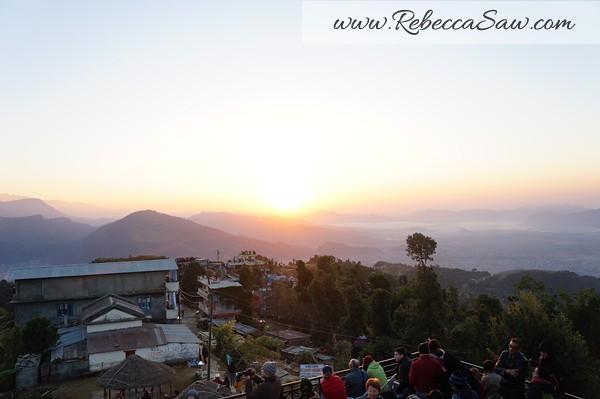 Sarangkot Nepal - sunrise pictures - rebeccasawblog-014