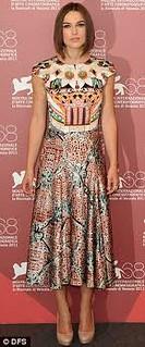 Keira Knightley Orient Trend Celebrity Style Women's Fashion