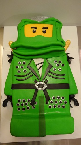2D Ninjago Cake by CAKE Amsterdam - Cakes by ZOBOT