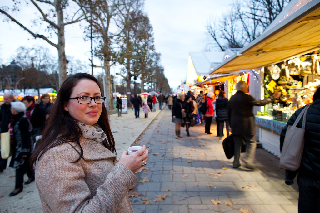 Mon at the Christmas Market