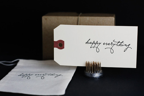 Happy Everything Stamp by Besotted Brand