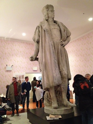 Columbus Circle Statue. Living room.