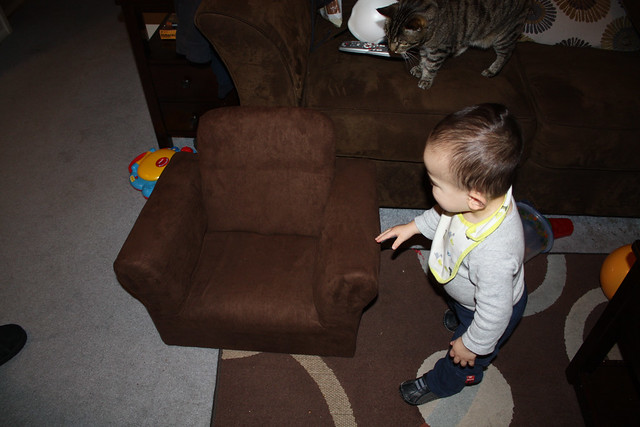 Vinny's first couch