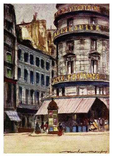 003-La Samaritane-Paris (1909)-Mortimer Menpes