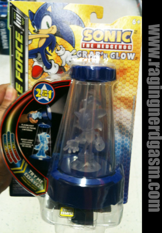 Sonic The Hedgehog Grab n Glowby tech 4 kids 001