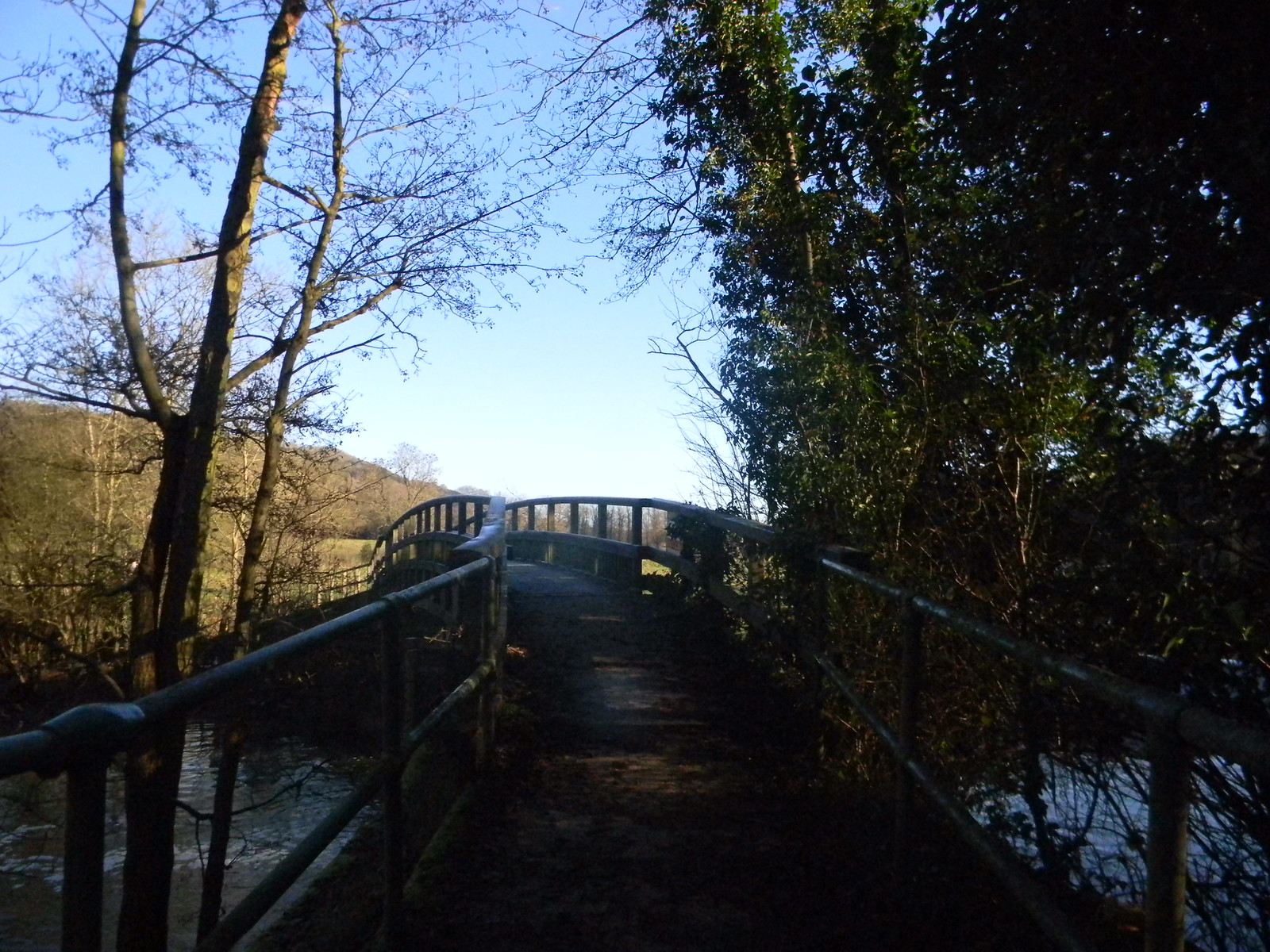 Bridge over the River Mole Dorking to Reigate