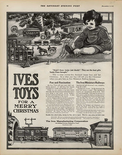 Ives Toys For A Merry Christmas