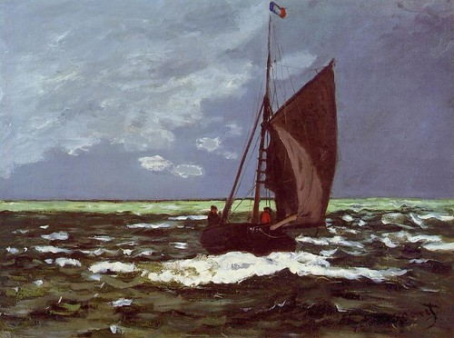 1867 Claude Monet Mare ventoso(Clark Art Institute)