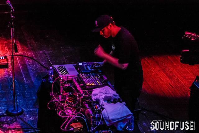 12.1.12 Michal Menert, Break Science, and Paul Basic at House of Blues in Chicago IL presented by Silver Wrapper