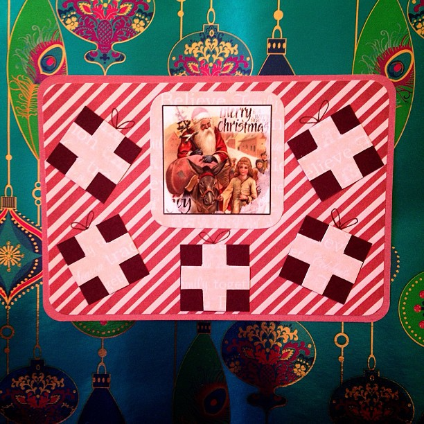 #presents #gifts #santaclaus #christmas #snailmail #postcard