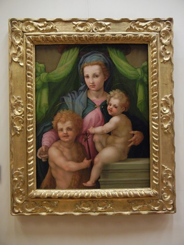 DSCN1959 _ Madonna and Child with St. John, Andrea del Sarto's Workshop, Ca d'Oro, 14 October