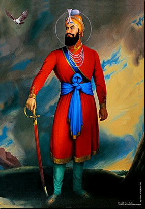 The funeral pyre - Guru Gobind Singh Ji