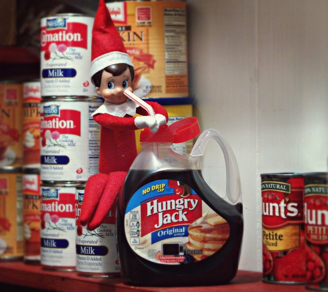 Day 5 : Elf on the Shelf