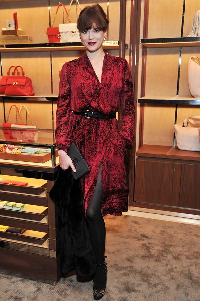 Salvatore Ferragamo Old Bond Street Boutique Store Launch