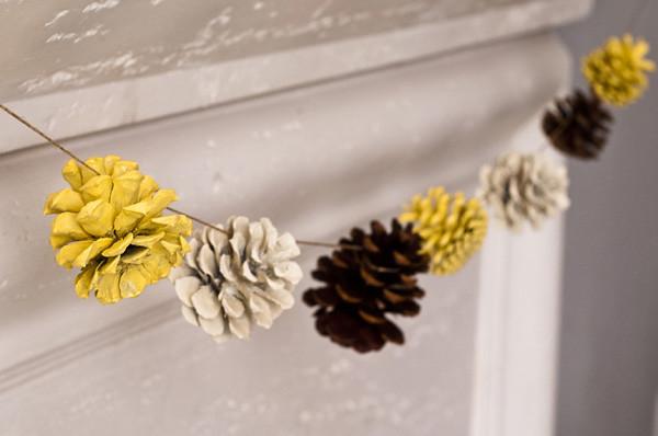 pine cone garland 2