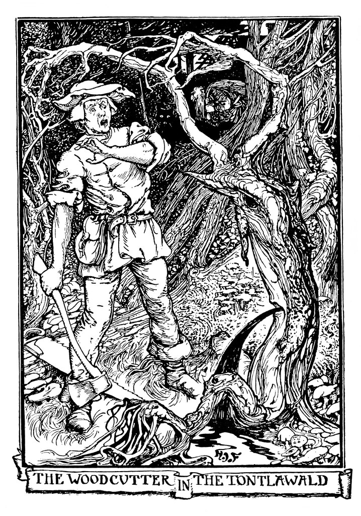 Henry Justice Ford - The violet fairy book, edited by Andrew Lang, 1906 (illustration 1)