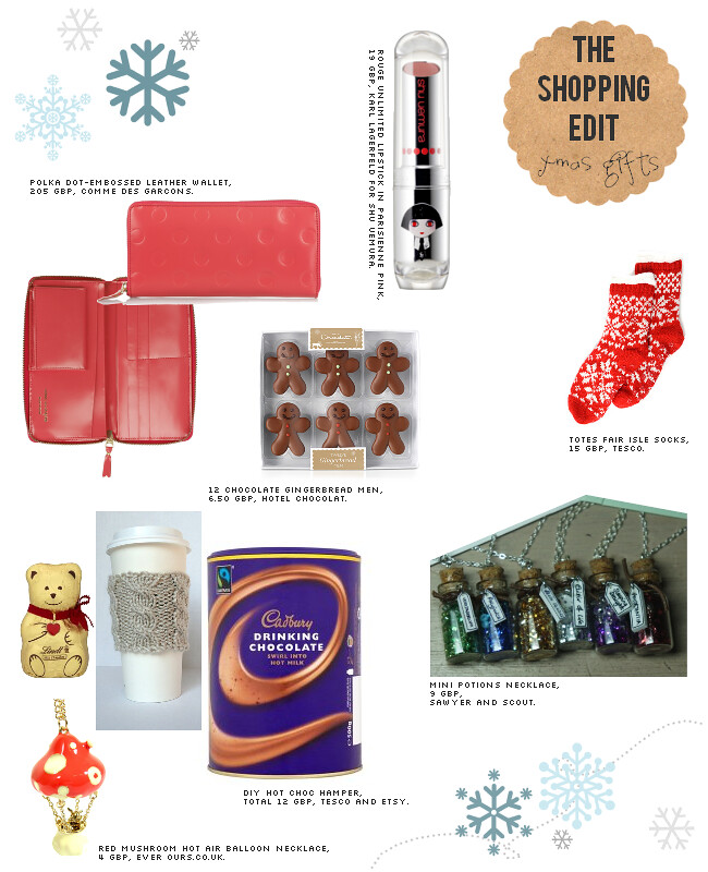 daisybutter - UK Style and Fashion Blog: christmas gift guide, shopping tips, the shopping edit, present ideas for her