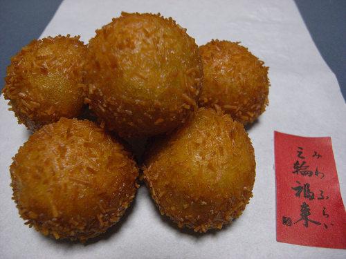 素麺を使った揚げ菓子「三輪福来」『吉方庵』@桜井本店