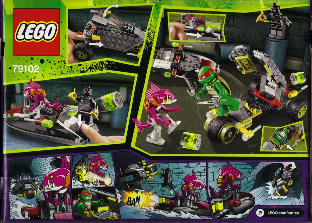 "LEGO Teenage Mutant Ninja Turtles :: ""Stealth Shell in Pursuit"" ..box ii (( 2013 )) by tOkKa"
