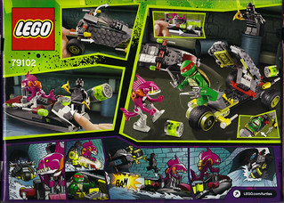 "LEGO Teenage Mutant Ninja Turtles :: ""Stealth Shell in Pursuit"" ..box ii (( 2013 ))"