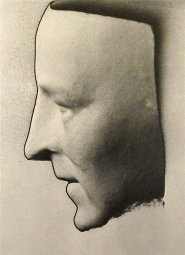 Man Ray 1890-1976) 1920 Death Mask of Modigliani by RasMarley