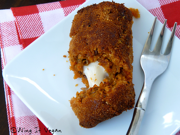 Leftover Lentil Cottage Pie Croquette