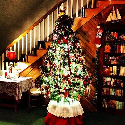 O, Christmas tree...