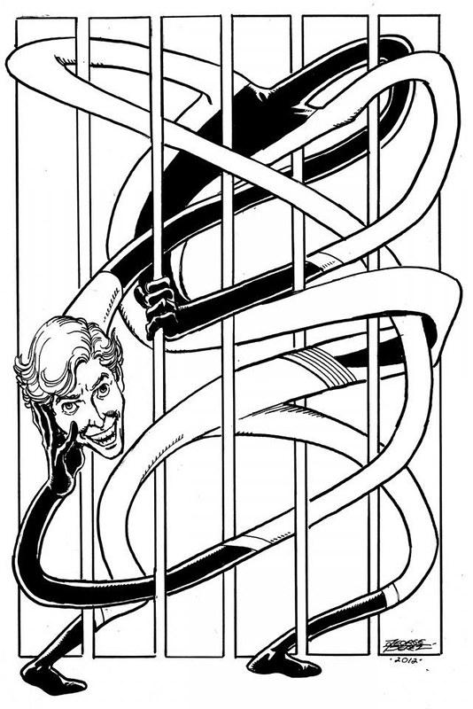 Elongated Man by George Perez