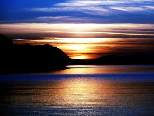 Sunset, West of Scotland