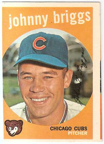 1959 Topps Johnny Briggs