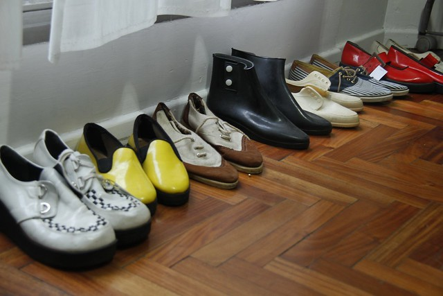 Shoes at Vintage de la Provincia