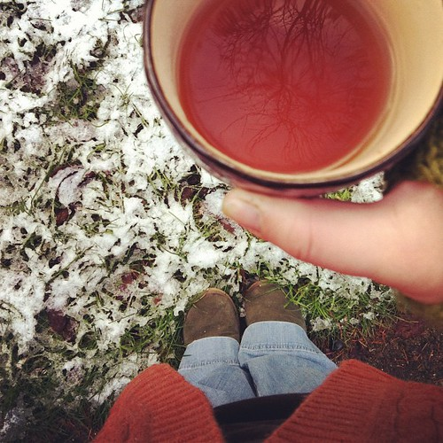 leaning into softness, warmth, and the joy of snow. #wateryoursoul