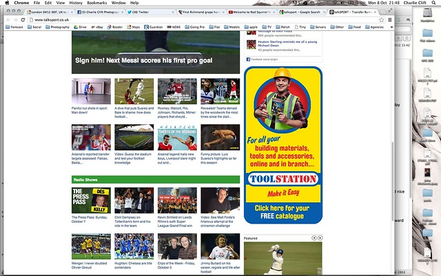 Toolstation talk sport website 8-10-2012