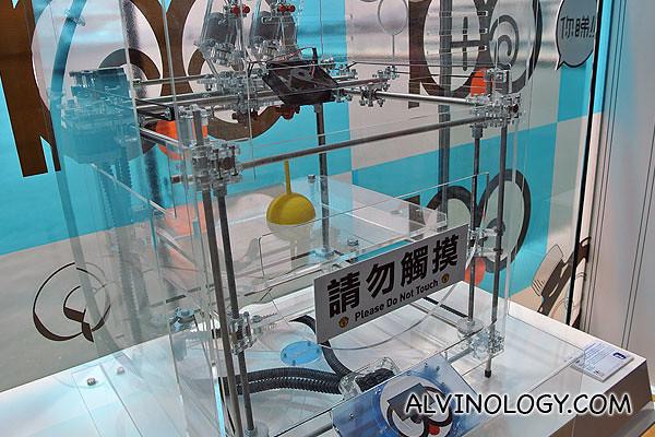 A large mechanical gadget