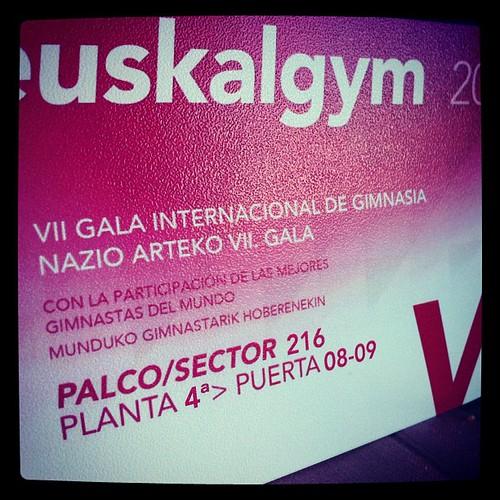 EUSKALGYM 2012 en BILBAO. 10 Noviembre 17,30h para toda la familia. by LaVisitaComunicacion