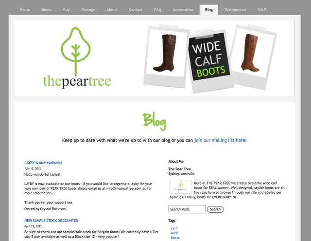 Blog.pear.tree