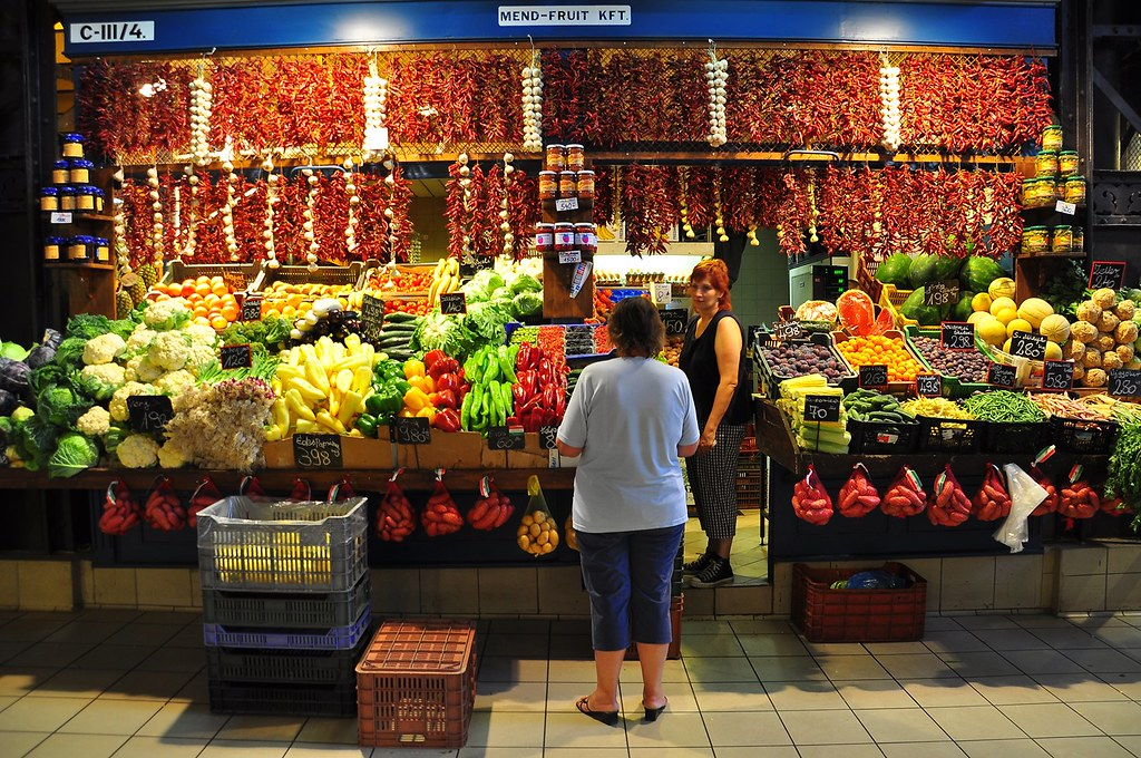 Budapest's Great Market Hall